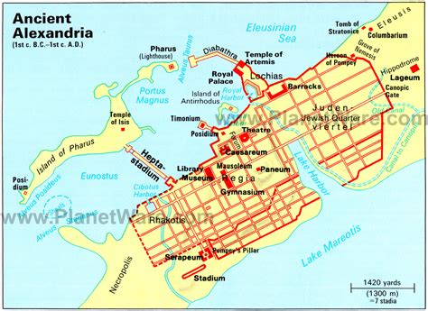 alexandria map alexandria the cultural center of the ancient world