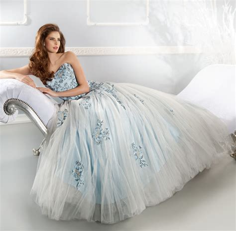 Light Blue Wedding Dress by 1000 Images About Lightblue Wedding Dresses On