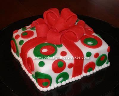 happy birthday christmas cakes present birthday cake designs happy holidays