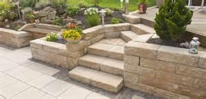 garten betonsteine blockstufen sofort ab lager lieferbar rinn betonsteine