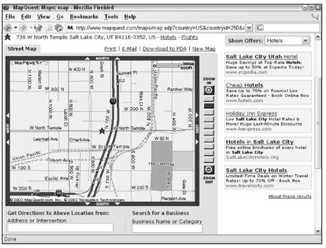 Mapquest Address Search Reviewing Map Web Gps