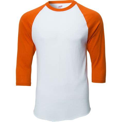 T Shirt 3 4 soffe mens classic raglan 3 4 sleeve t shirt