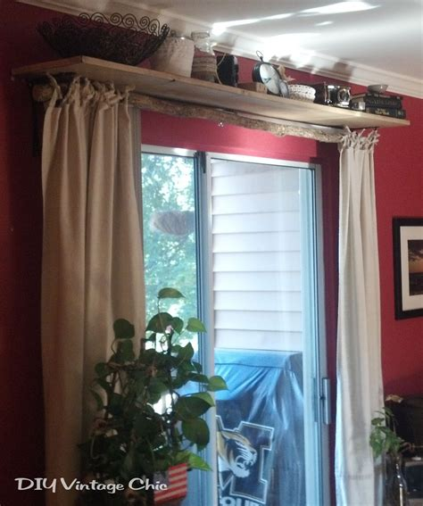 curtains for shelves rustic no sew curtains and window treatment note to self