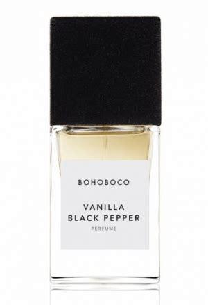 New Vanelia Black vanilla black pepper bohoboco perfume a new fragrance for and 2016