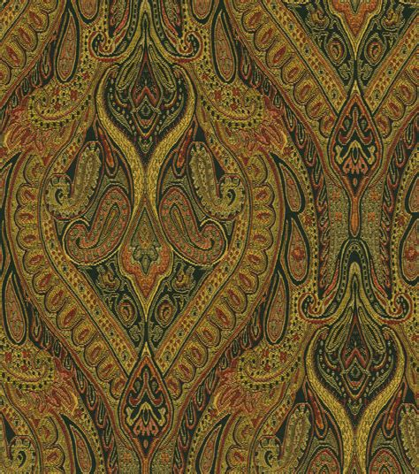 paisley upholstery fabric upholstery fabric waverly karaj paisley onyx at joann com