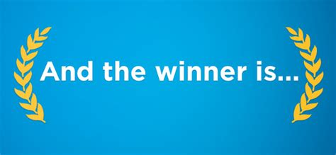 And The Wiiiiinner Is by Zenblog And The Winner Is