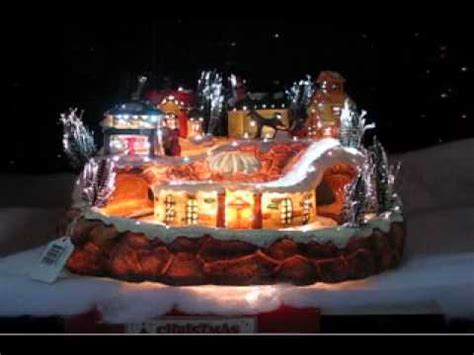moveable christmas train ornaments fibre optic large with moving the warehouse