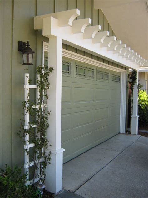 Pergola Design Ideas Garage Door Pergola Ideas About