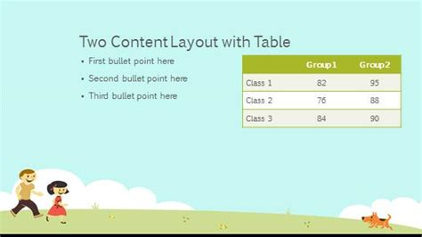 theme powerpoint for elementary free elementary school playground template free