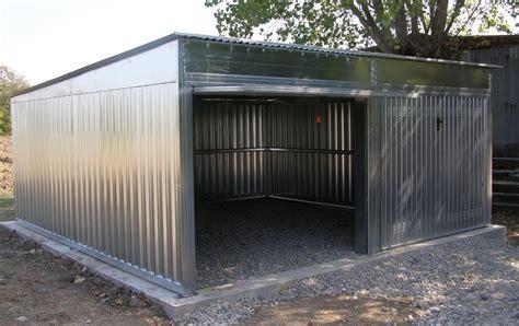 box auto in alluminio abris et garages en acier galvanis 233 polybox