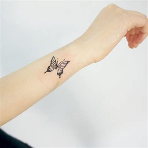 small butterfly tattoos for women 30 simple butterfly tattoos