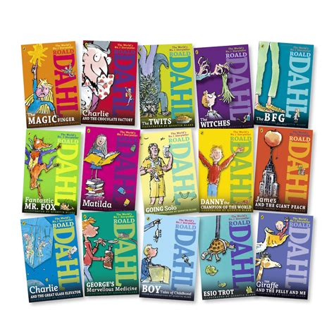 pictures of roald dahl books win a splendiferous set of scrumdiddlyumptious books