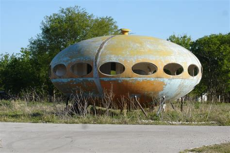 Ufo House by Zannini The Flying Saucer House