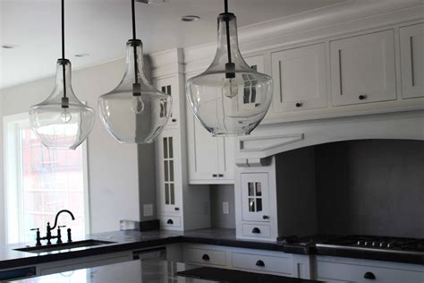 Glass Pendant Lighting For Kitchen Islands 20 Glass Pendant Lights For Kitchen Island 4794 Baytownkitchen