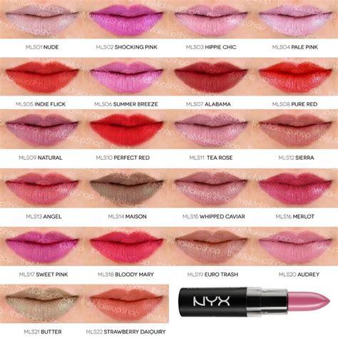 Lipstik Nyx 24h Matte matte lipstick www makeup shop ro swatches makeup shop matte lipsticks and makeup