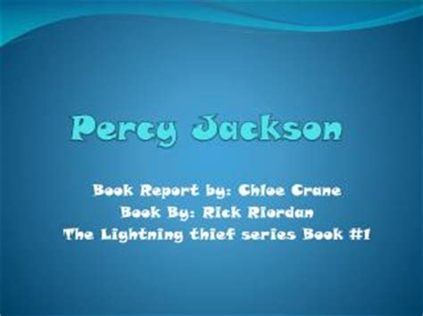 percy jackson book report ppt percy jackson and the olympians the last olympian