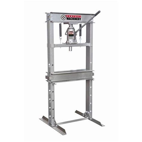 20 Ton Floor by 20 Ton H Frame Industrial Heavy Duty Floor Shop Press