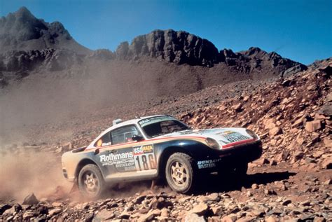 porsche 959 group b paris dakar 1986 porsche 959 motorsport retro