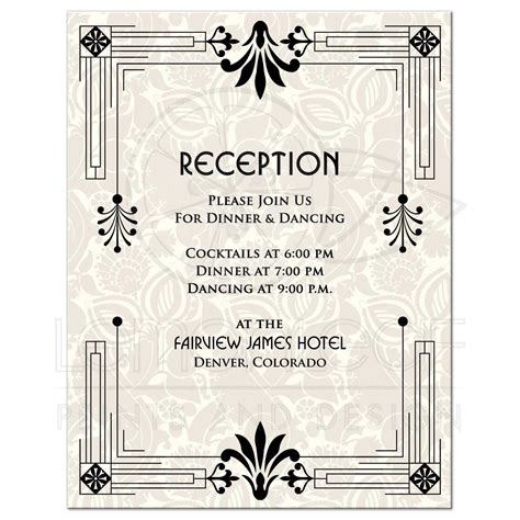 wedding reception cards wedding reception card beautiful wedding invitations with