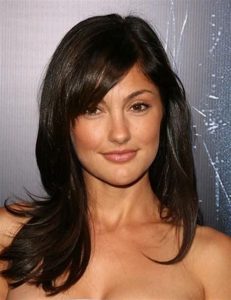 casual hairstyles for layered hair best 25 layered side bangs ideas on pinterest side bang