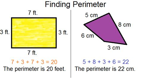 how to calculate perimeter perimeter and area geometry