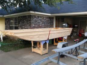 Ozark Deck Boat by Diy Homemade Wooden Flat Bottom Boat Plans Free