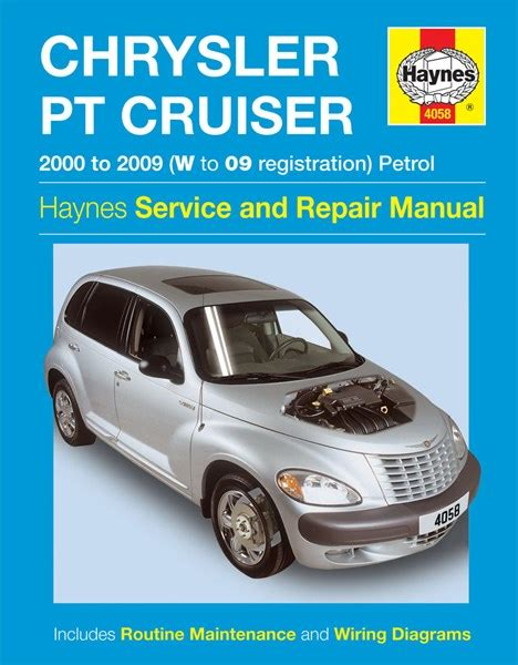 car manuals free online 2008 chrysler pt cruiser user handbook haynes reparationshandbok chrysler pt cruiser universal