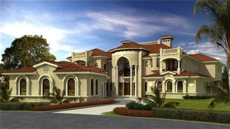 Luxury Estate House Plans by Luxury Home Mediterranean Style House Plans Tuscan Style
