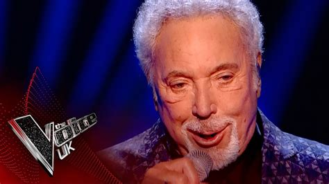 On Voice tom jones performs you can leave your hat on the voice