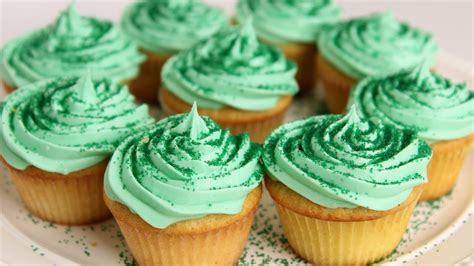 shamrock milkshake cupcake recipe vitale