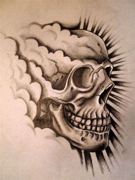 happy tattoo designs happy skull design by danleicester on deviantart
