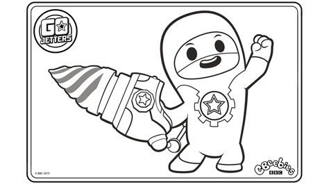 Go Jetters Cbeebies Australia Cbeebies Woodwork Tips Cbeebies Colouring Pages To Print