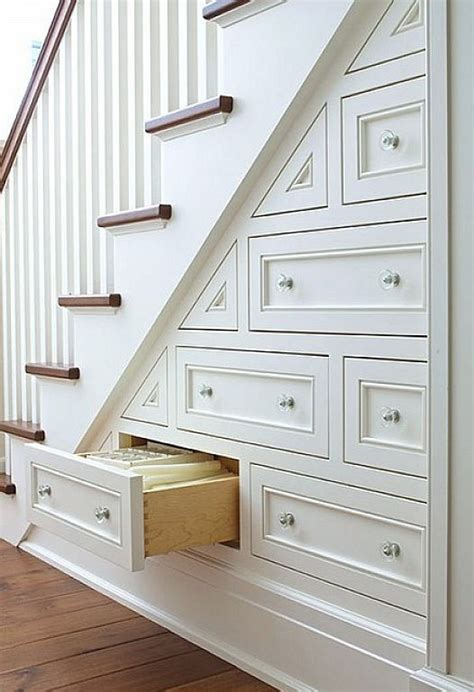 Stair Storage Closet by Creative Stair Storage Design Ideas