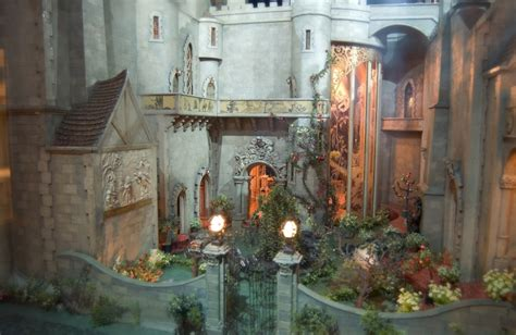 inside a doll house the castle s magic garden colleen moore s fairy castle fairyroom