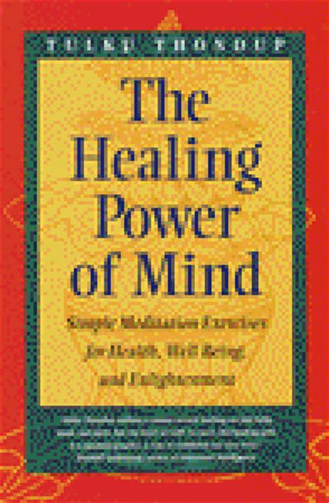 the healing power of mind simple meditation exercises for