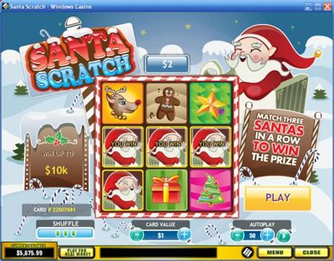 Instant Win Scratch Cards - santa scratch scratchcard guide review casino answers