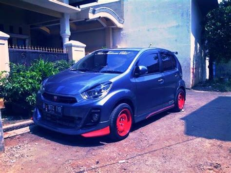 Fender All New Sirion 1buah Sirion Superauto Myvi Variasi bodykit bumper all new sirion myvi 2011 2014 auto bodykit mobil