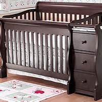 sorelle princeton 4 in 1 convertible crib with changer