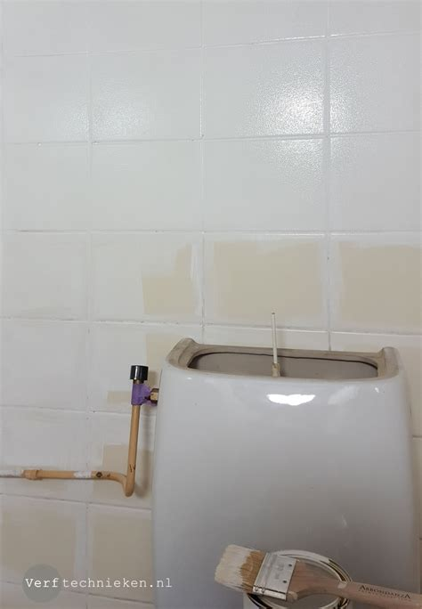 wc tegels pimpen awesome tegels primen voor het verven with wc tegels pimpen
