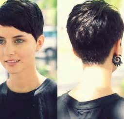 haircut pixie on top in back 10 back of pixie cut short hairstyles 2016 2017 most