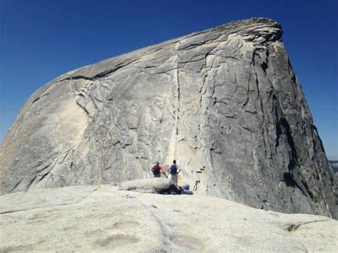 yosemite explores leave no trace books atop sub dome picture of yexplore yosemite adventures