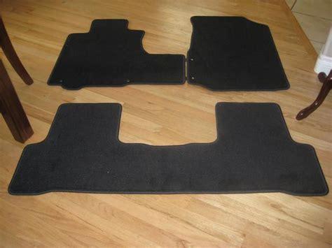 2011 Honda Crv Floor Mats by Floor Mats For Honda Crv 2007 2011 Saanich