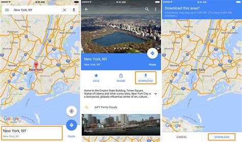 full google maps offline how to download areas in google maps for offline use