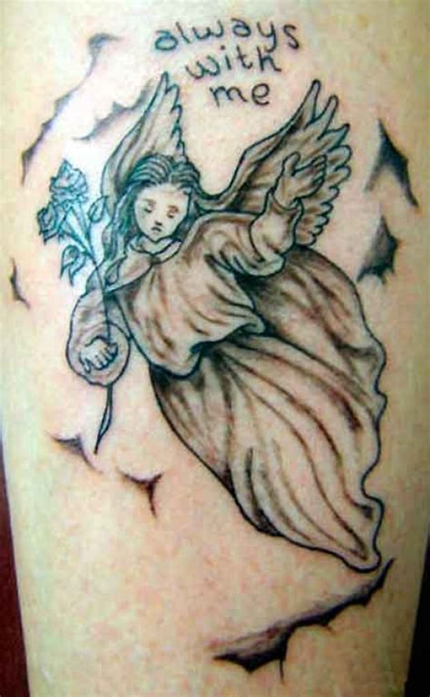 angel tattoo side view angel tattoo meanings and designs tatring
