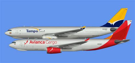 avianca cargo brazil a330f fsp the flying carpet hub