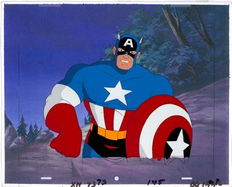 Captain America 02 captain america from the animated series 02 in
