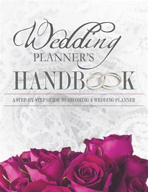 Wedding Planner Handbook by Wedding Planner S Handbook The Wedding Planner Book