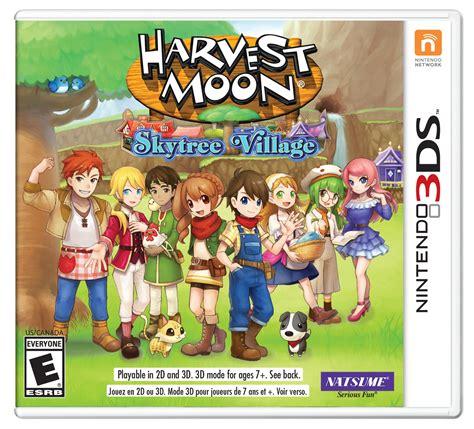 Kaset 3ds Harvest Moon Skytree nisa store harvest moon 174 skytree limited edition