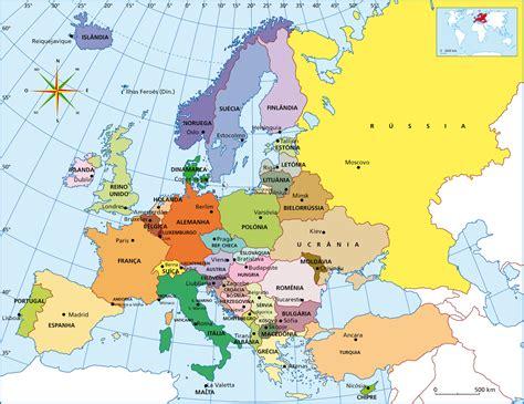maps de europa europa mapa paises