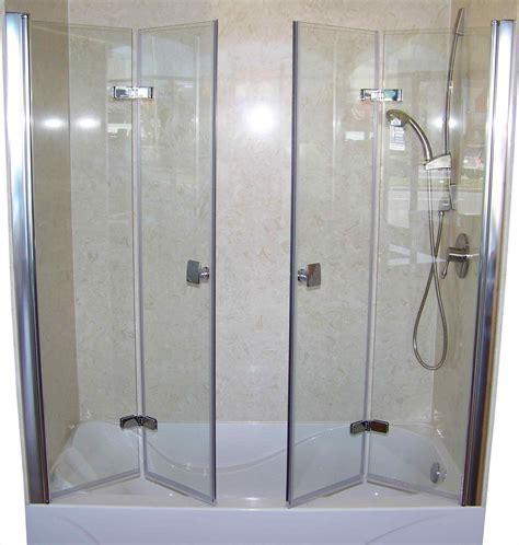 Folding Glass Shower Doors Bi Fold Shower Screens Bath 2018 Athelred